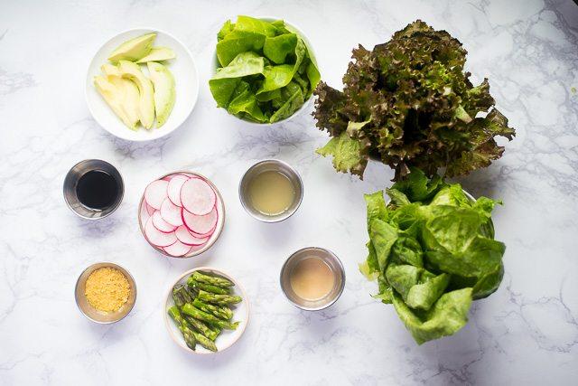 Radish & Asparagus Salad